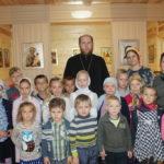 Начало занятий в детской Воскресной школе