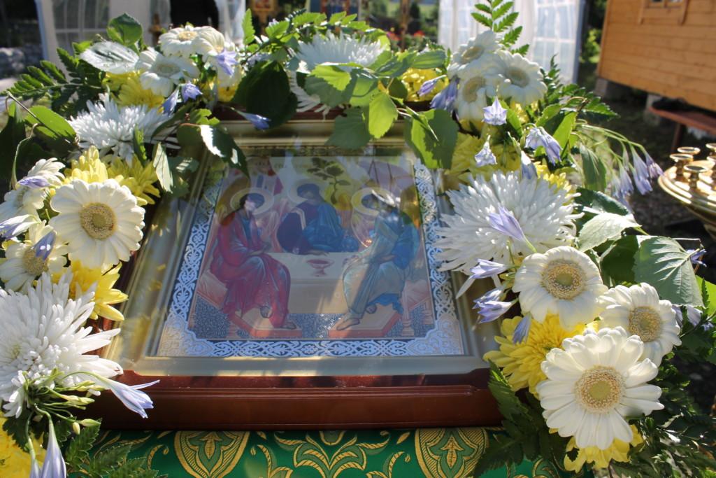 Праздник Святой Троицы в Васильевском