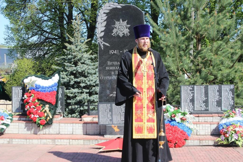День Победы в деревне Васильевское