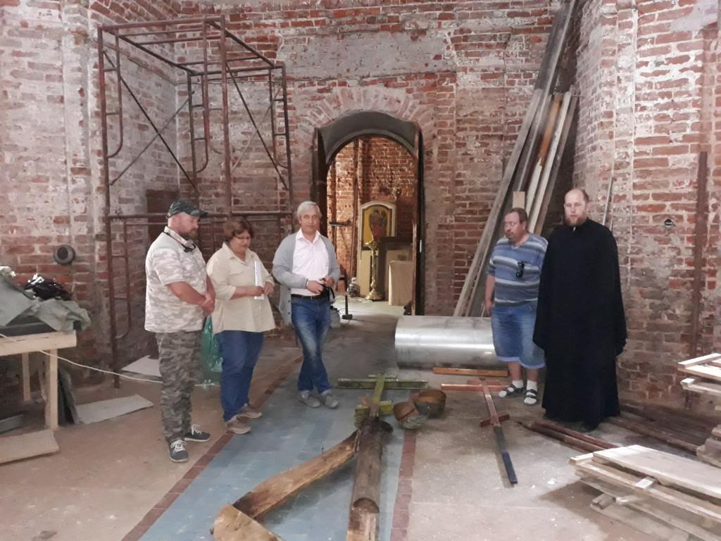 Рабочая встреча в Рождественском Храме